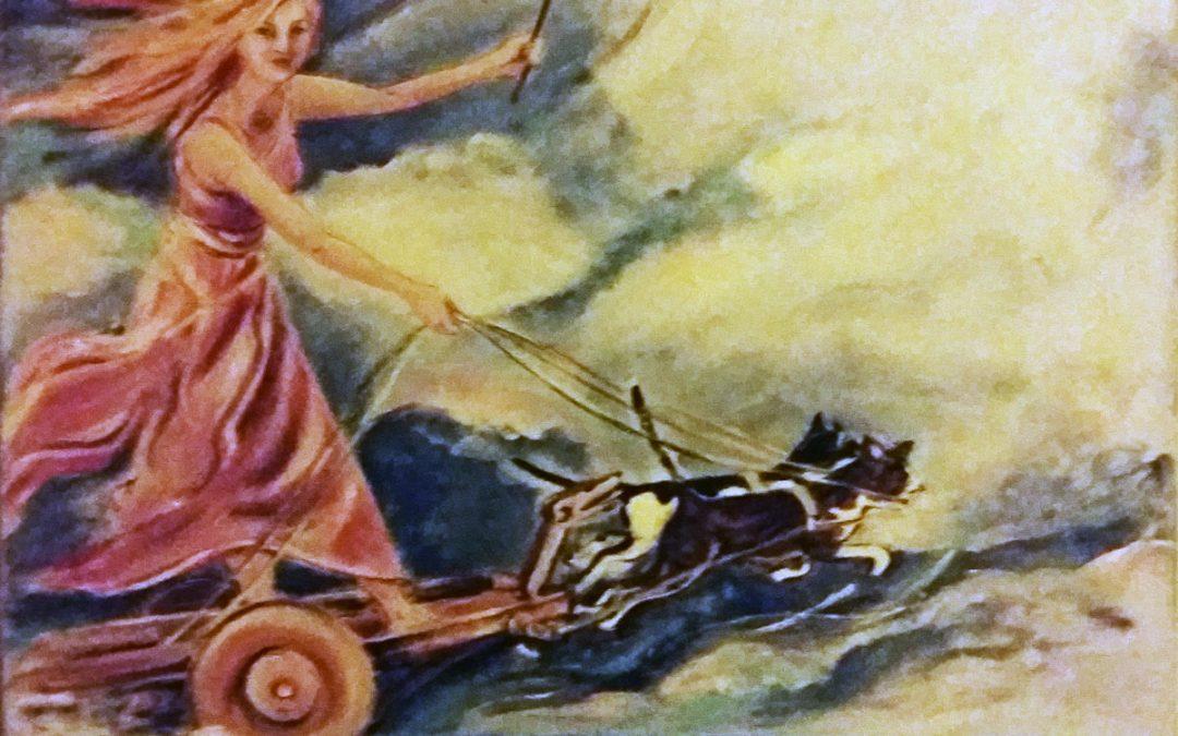 Freyja, Godin van de liefde en de vruchtbaarheid