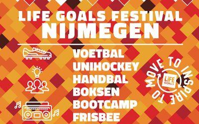 Deelnemers gezocht voor sportdag Life Goals Nijmegen (1 juni)