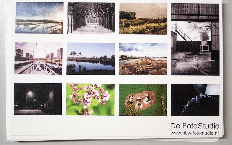 Ansichtkaarten van De FotoStudio!