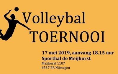 Volleybal toernooi op 17 mei