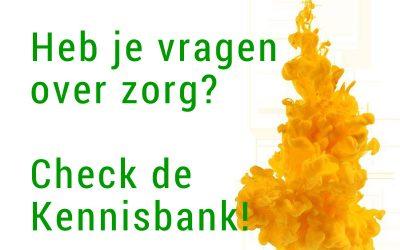 Vragen over zorg? Check de Kennisbank!