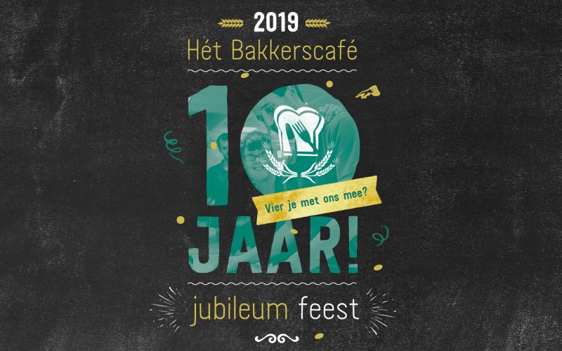 10 jarig jubileum Bakkerscafé
