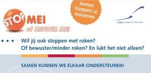 Stoppen met roken? STOPmei! @ Bureau Herstel RIBW-NR