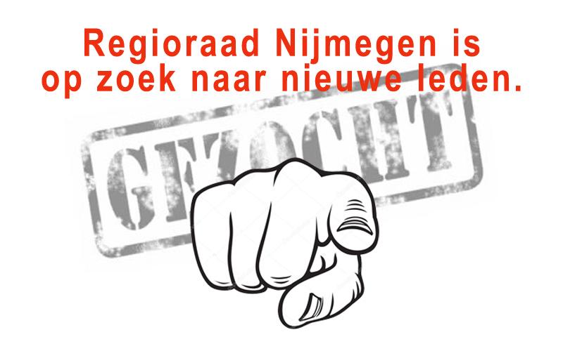 Regioraad Nijmegen is op zoek naar nieuwe leden