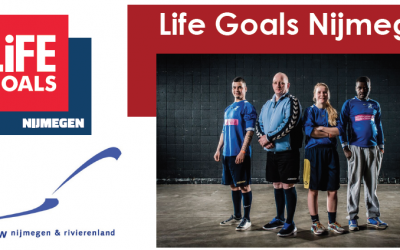 Boksen en Voetballen met LifeGoals Nijmegen