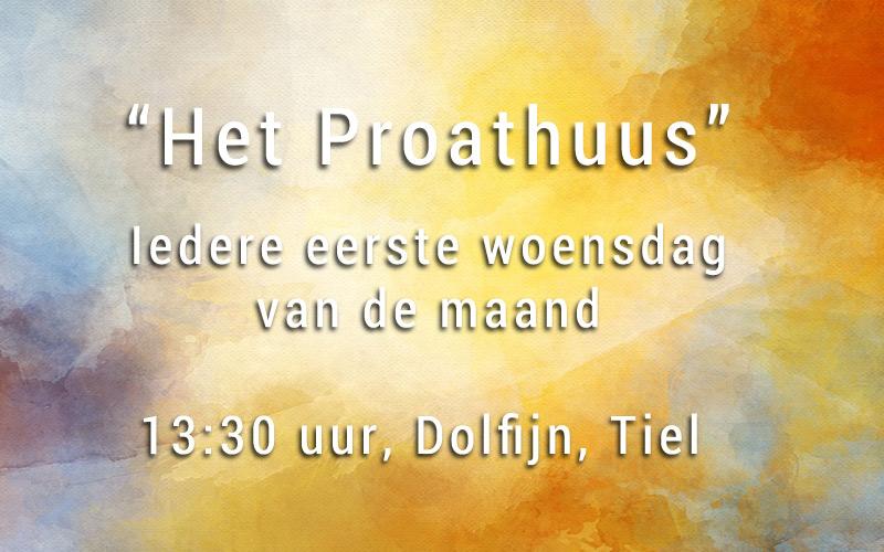 """Uitnodiging gespreksgroep het """"proathuus"""" in Tiel (5 juni)"""