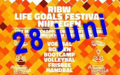 Sport mee op 28 juni met Life Goals Festival Nijmegen
