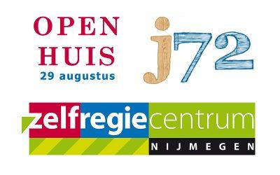 Open Huis Zelfregiecentrum Nijmegen en j72 op 29 augustus