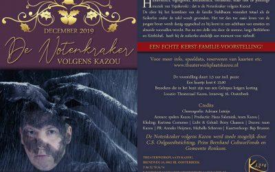 Voorstelling 'De Notenkraker' van Theaterwerkplaats Kazou