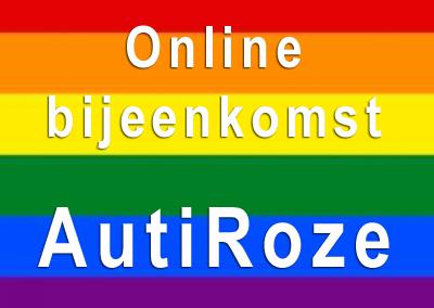 AutiRoze bijeenkomt: 25 maart online