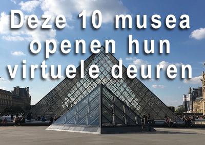 Bezoek de grootste Europese musea Virtueel