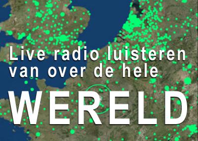 Wereldwijd live radio luisteren met Radio Garden