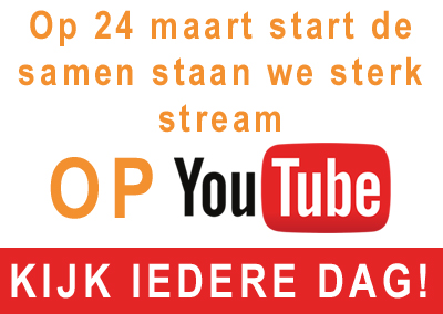 "Start RIBW ""Samen Staan We Sterk"" Live stream"