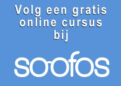 Soofos biedt gratis cursussen aan