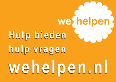 Zoek of bied hulp via wehelpen.nl