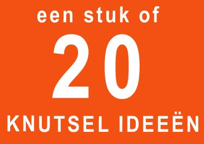 (Een stuk of) 20 knutsel ideeën