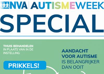 NVA maak extra digitale uitgave n.a.v. Wereld autisme dag