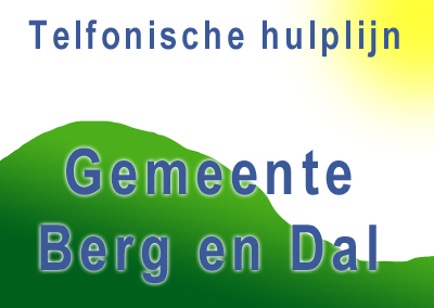 Hulplijn Sociaal Team Berg en Dal
