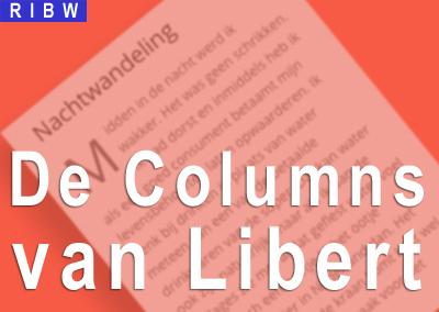 Een nieuwe Column van Libert