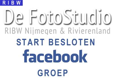 RIBW FotoStudio start besloten Facebook groep