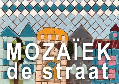 Mozaïek de straat