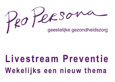Online groeps- en ondersteuningsaanbod van Pro Persona