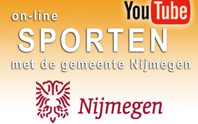 Online sporten en bewegen met de Gemeente Nijmegen (voor jong en oud!)