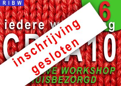 CREA10 Workshop 6 (INSCHRIJVING GESLOTEN)