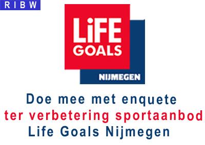 Doe mee met enquete verbetering sportaanbod Life Goals Nijmegen