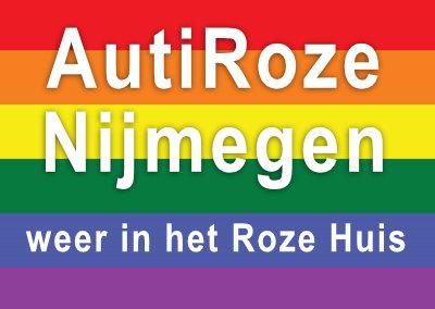 AutiRoze Nijmegen weer in het Roze Huis