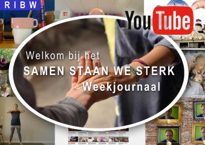 We zijn gestart met een nieuwe reeks van het 'Samen Staan We Sterk Weekjournaal'