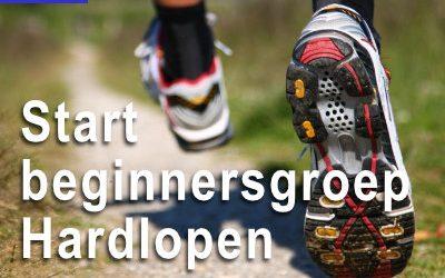 Start beginnersgroep hardlopen RIBW op maandag 21 september