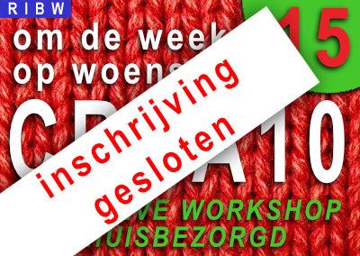 CREA10 workshop 15: 'Een zomers boeket' (INSCHRIJVING GESLOTEN)