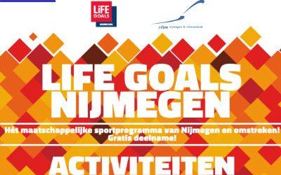Activiteitenseizoen Life Goals Nijmegen vanaf september van start