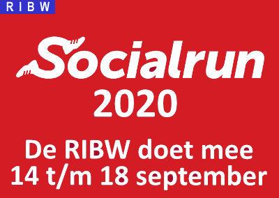 (RIBW doet mee aan) Socialrun 2020 – 14 t/m 18 september