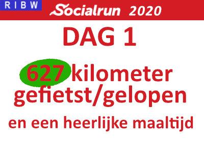 Socialrun 2020 – Dag 1 (inclusief Video!)