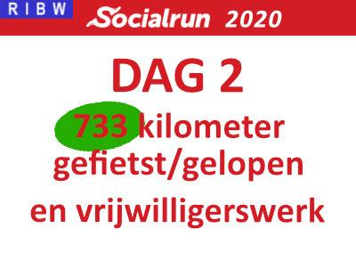 Socialrun 2020 – Dag 2 (inclusief Video!)