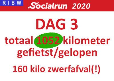Socialrun 2020 – Dag 3 (inclusief Video!)