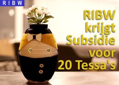 RIBW krijgt Subsidie voor 20 Tessa's