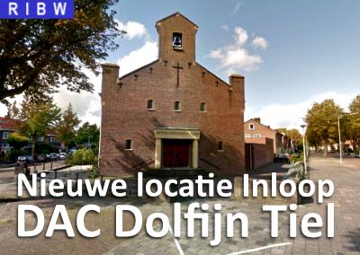Nieuwe locatie voor de RIBW Inloop DAC Dolfijn in Tiel