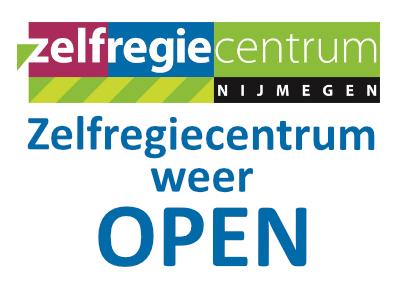 Zelfregiecentrum weer open vanaf 19 november