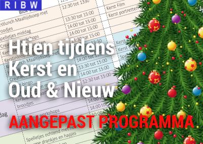 Kerstprogramma Htien (let op, AANGEPAST DOOR CORONAMAATREGELEN)