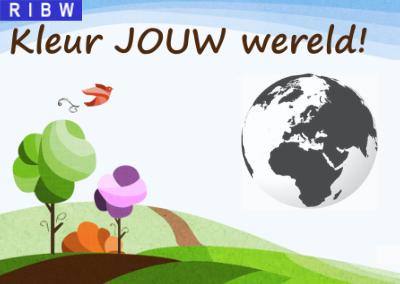 Kleur JOUW wereld! (knutseltip)
