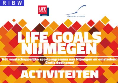 Aangepast programma Life Goals Nijmegen