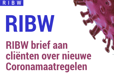 RIBW brief aan cliënten over coronamaatregelen, 16 december 2020