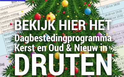 Programma week 52, 53 en 1 in Druten