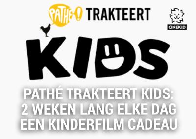 Pathhé trakteert kids: 2 weken lang elke dag een kinderfilm cadeau!