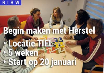 Cursus: Begin maken met Herstel (locatie Tiel)