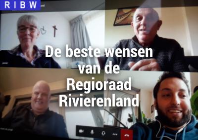 De beste wensen van de Regioraad Rivierenland