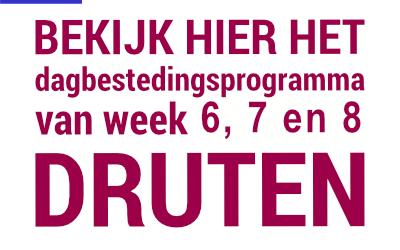 Programma week 6, 7 en 8, 2021 in Druten